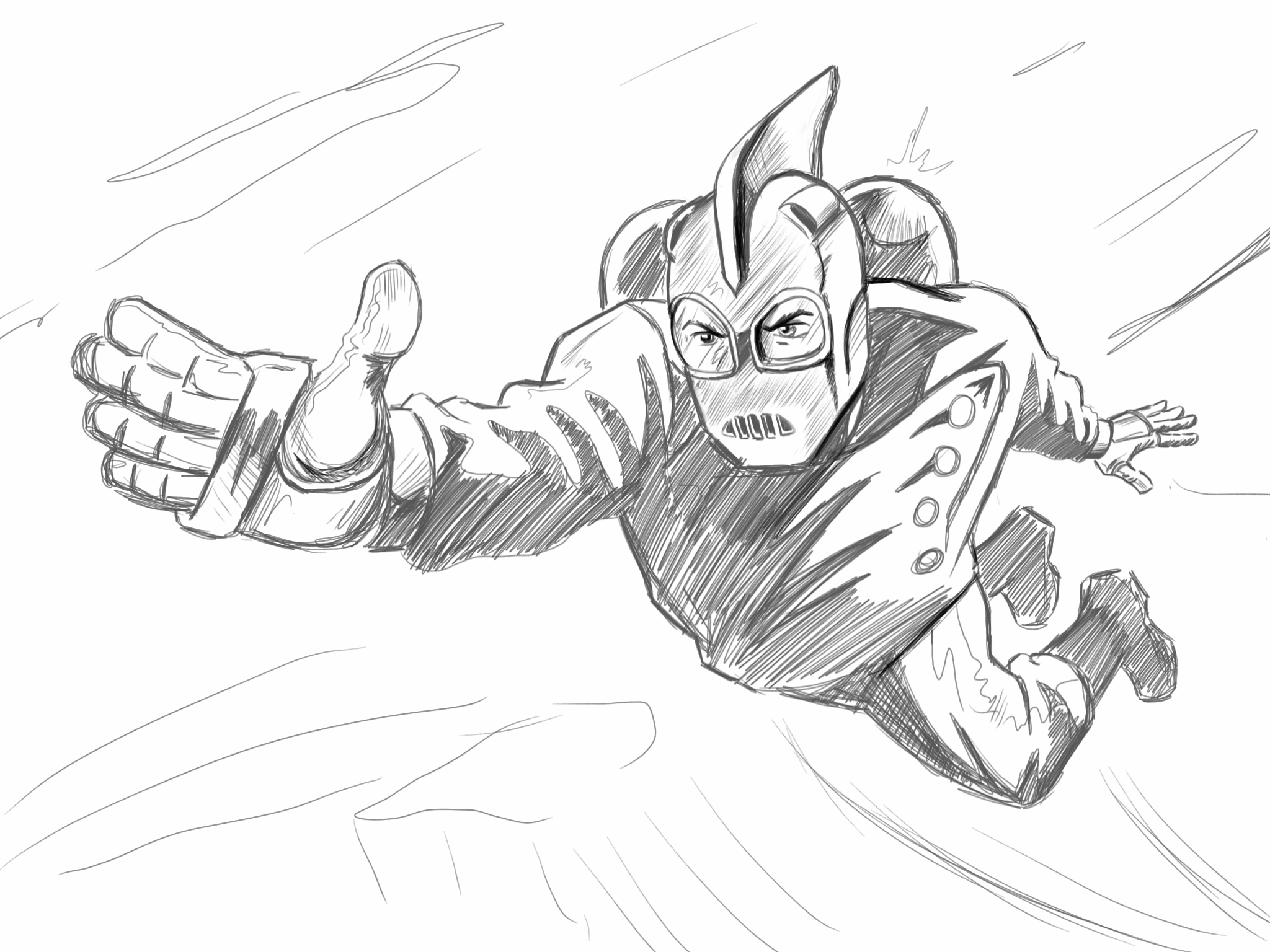 The Rocketeer Sketch